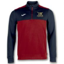 Ballyclare Hockey Club Winner 1/2 Half Zip Red/Navy - Adults 2018
